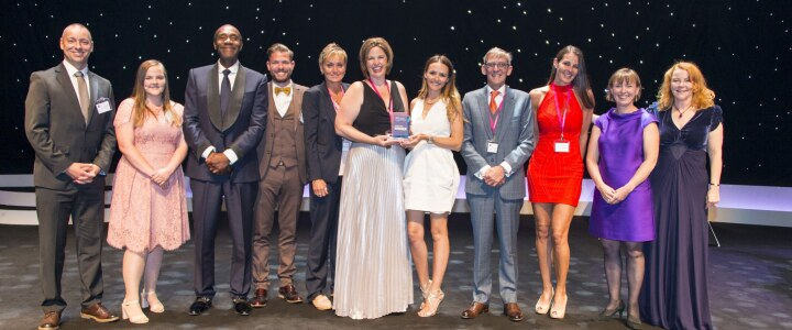 We win Business in the Community's Education Partnership Award