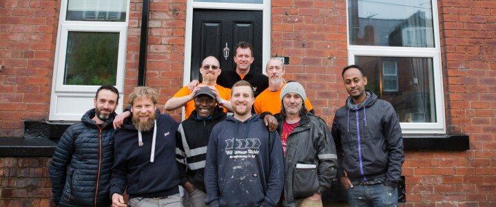 'Big 5' Giving Back Campaign helps to transform derelict house