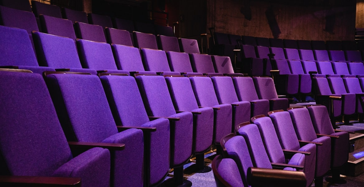 seating at the new vic theatre