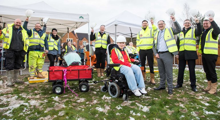 Breaking new ground for hospice extension