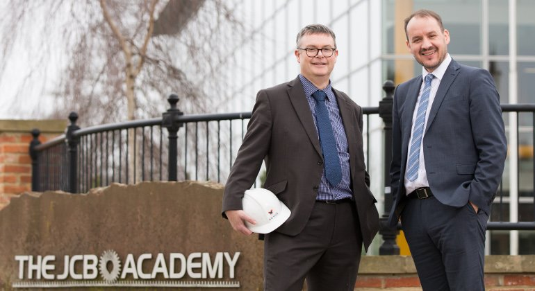 Constructing the future with the JCB academy