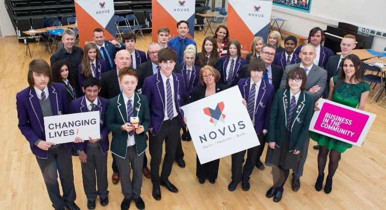 School partnership lays foundations for success