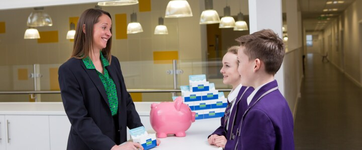 Investing in school banking project at Thistley Hough Academy