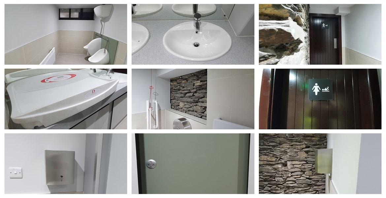 refurbishment of bathroom facilities at Bobbin Mill finished