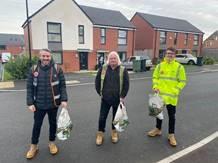 birmingham team donating food