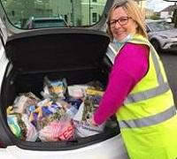 scotland food bank donation