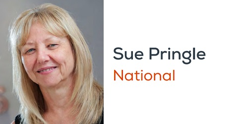 sue pringle mental health first aiders