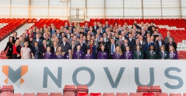 Staff sparkle at Novus Excellence Awards