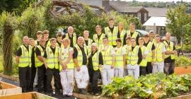 Apprentice hopefuls revitalise community garden