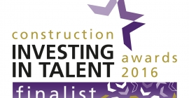Shortlisted for the Construction Investing in Talent Awards