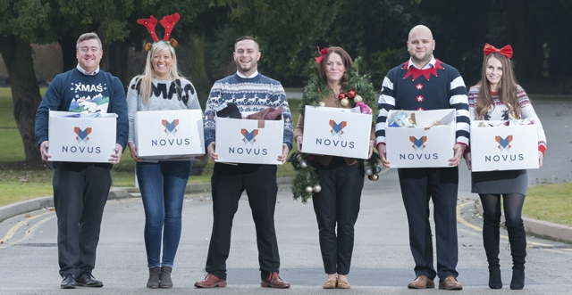 Novus Give a Gift Appeal spreads Christmas cheer