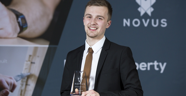 Training for the top: Apprentice of the Year named