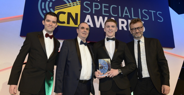 Our apprentice scoops leading industry award