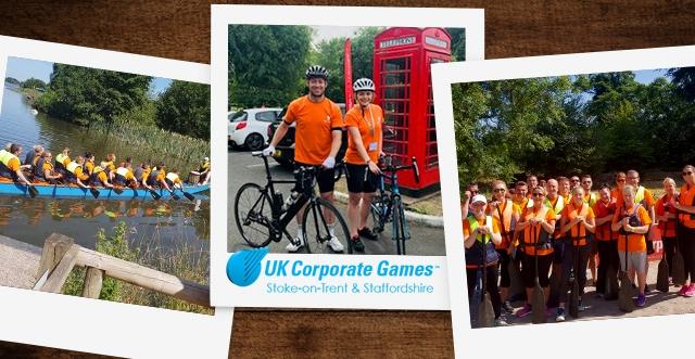 Representing Novus in the UK Corporate Games 2018