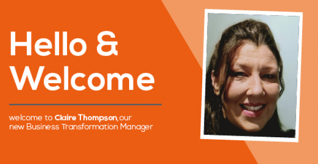 Claire Thompson joins us as Business Transformation Manager