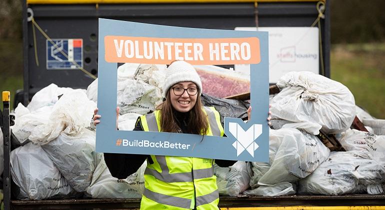Novus Launch New Volunteer Hero Initiative with Community Clean Up