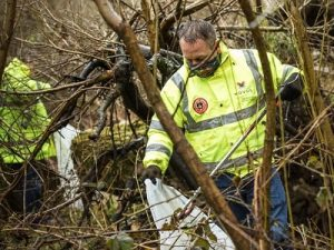 stoke community clean up and litter pick