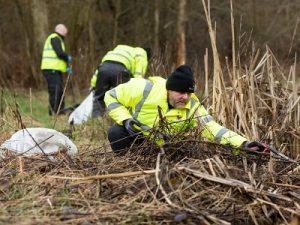 stoke on trent litter pick community clean up