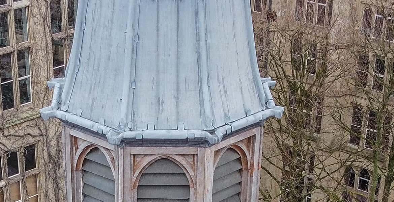 uni manchester roof survey