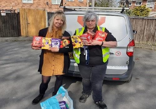 easter egg donation in Wrexham