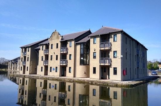 Lancaster University – Chancellor's Wharf External Refurbishment