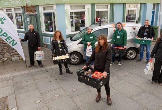 Novus South Brent Supporting Food Banks in Devon and Cornwall