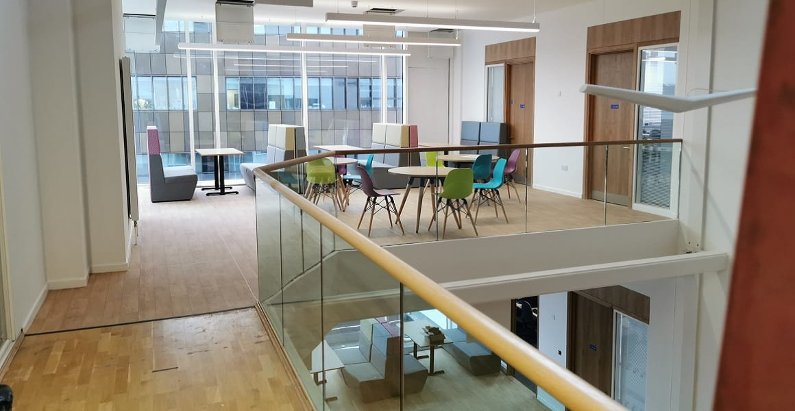 Sixth Form Extension inside