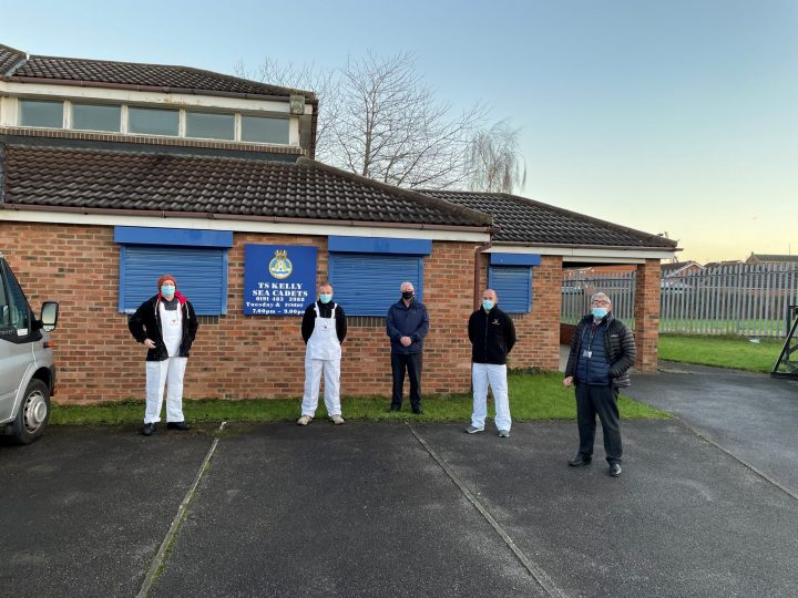 Novus improve Sea Cadets Building in the North East