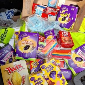 donation of easter eggs