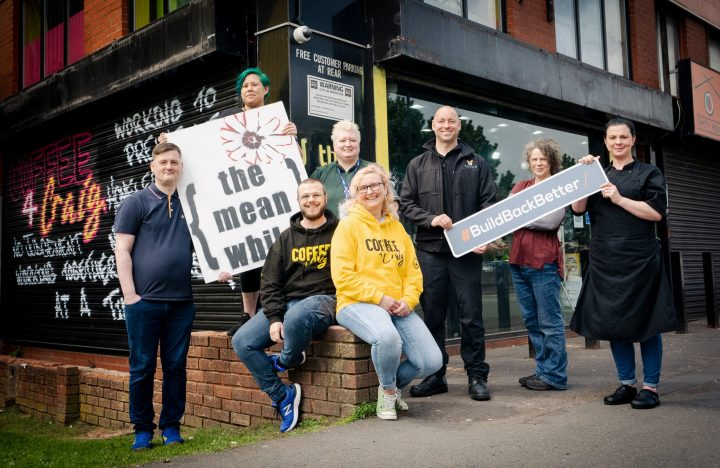 Novus deliver our first Build Back Better Challenge making a difference to a Homeless Charity