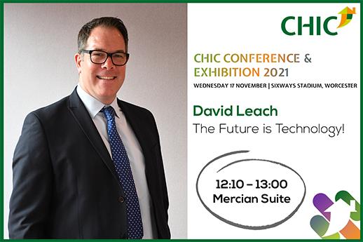 David Leach CHIC Conference Speaker Session