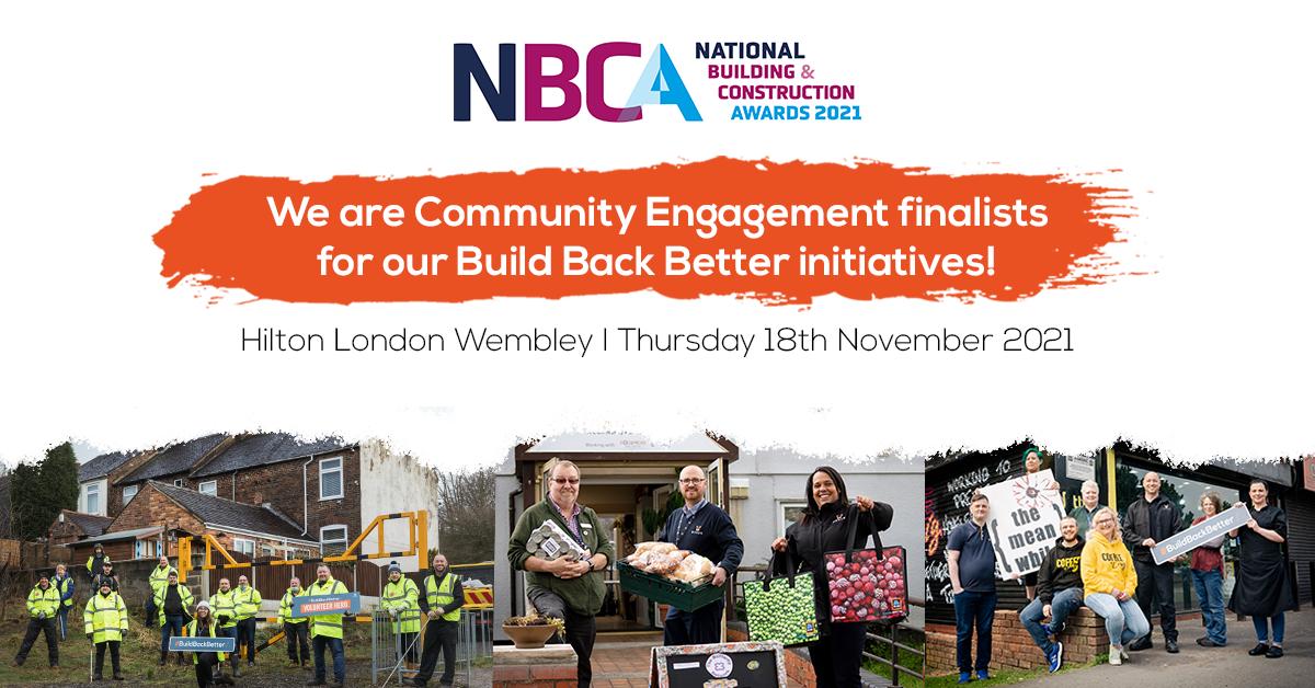 Novus are NBCA Community Engagement finalists!